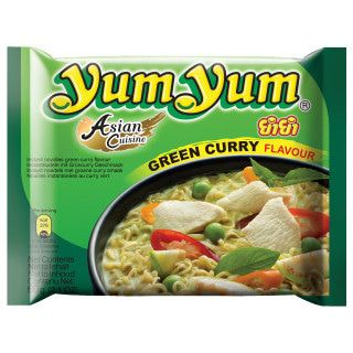 Instant Noedels Groene Curry 60 G