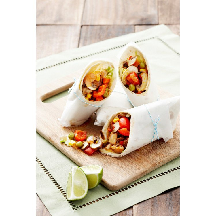 Tom Yum Burritos