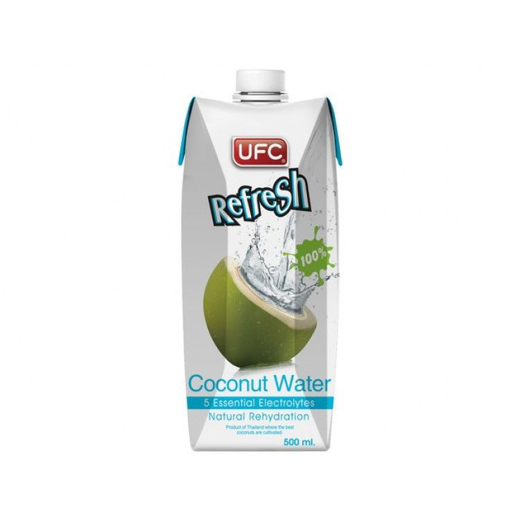 UFC Refresh Kokoswater 500 ML.