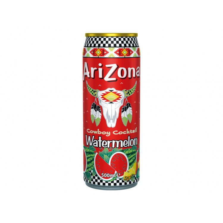 Arizona Ijsthee watermeloen 500 ml