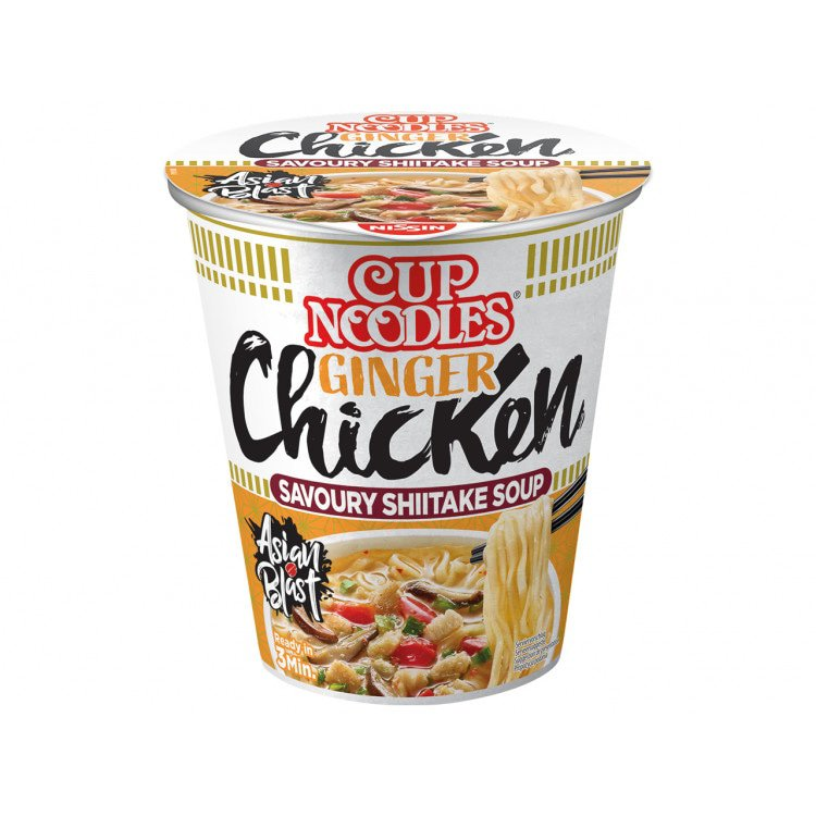 Nissin Instant Cupnoedels
