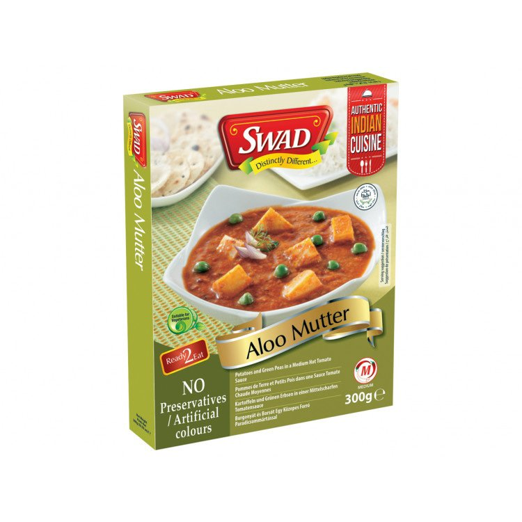 Aloo Mutter 300 g Ready to Eat