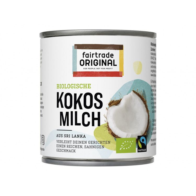 Fairtrade Original Biologische kokosmelk 270 ml