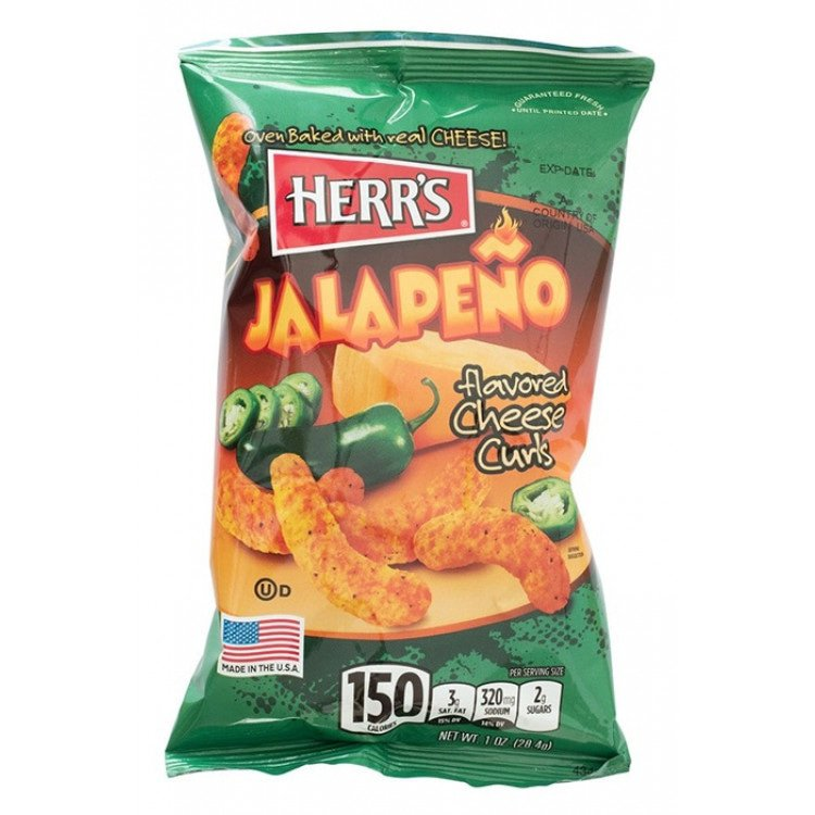Jalapeno's Cheese Curls 28,4 g