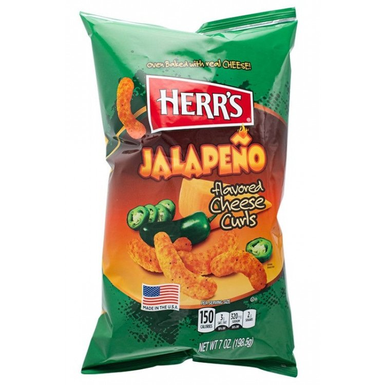 Jalapeno's Cheese Curls 199 g