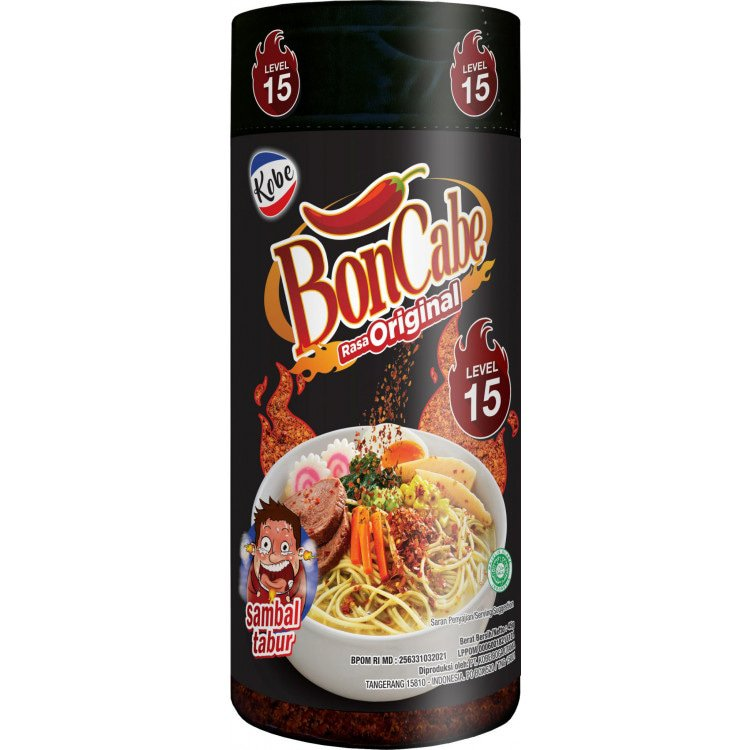 Strooibare Sambal Level 15