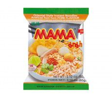 Instant Tom Yum Varkensvlees Noedels 60 gram