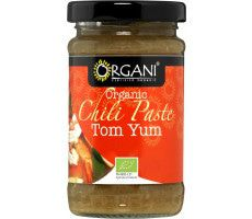 Biologische Tom Yum Chilipasta 100 GR