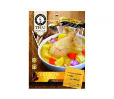 Currypasta geel Thai Dancer zk 50g