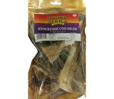 Stock Cod Head gedroogd 250 G