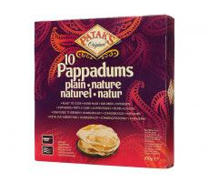Pappadums Naturel